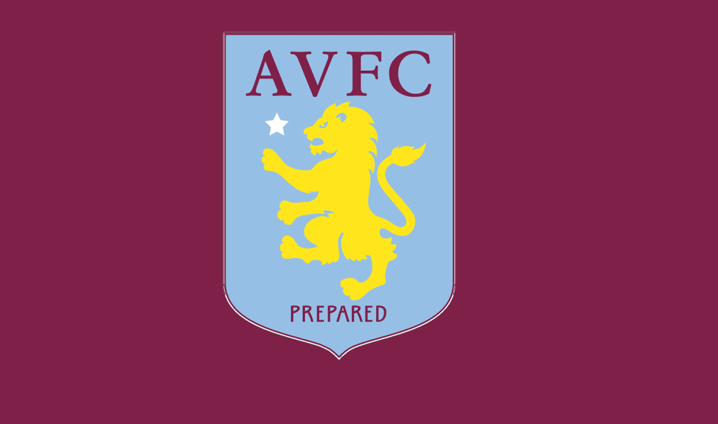 Aston Villa Logo With Claret Background